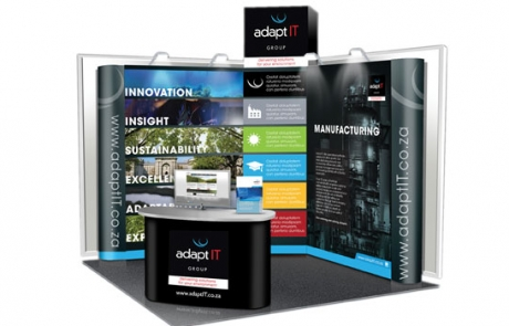 adapt it exhibition stand design