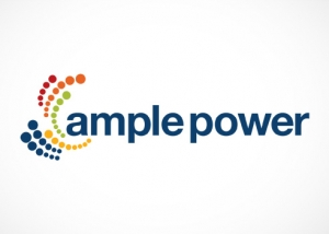 ample power logo design