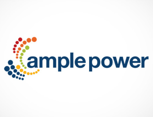 Logo design: Ample power