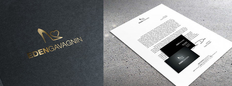 Eden Gavagnin corporate identity design