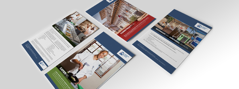 IFS corporate communication brochure design