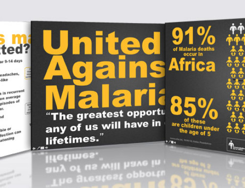Market research graphics: United against Malaria