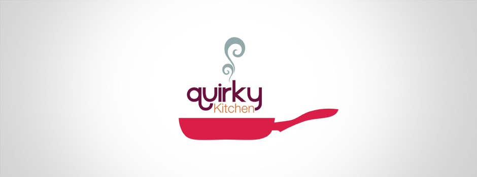 Corporate identity design quirky kitchen halo media for Quirky kitchen items