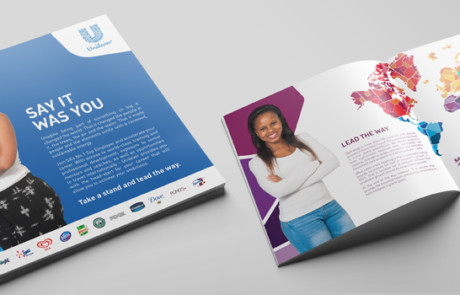 brochure annual report design in durban south africa