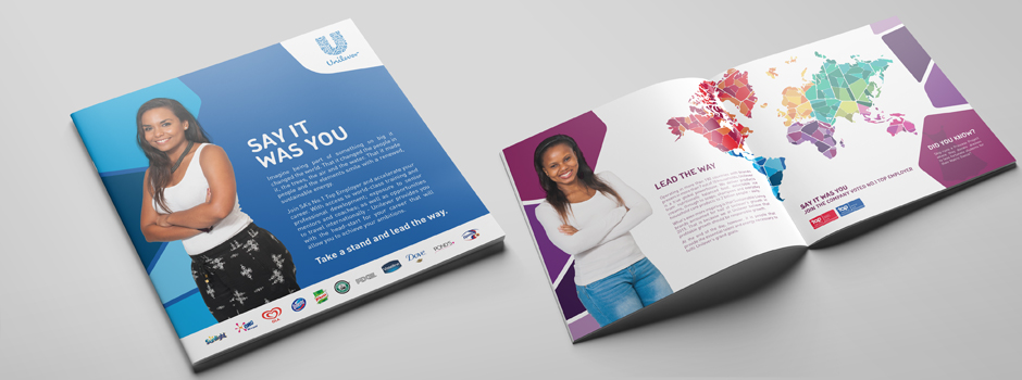 Unilever Employer Brand Graduate Recruitment brochure