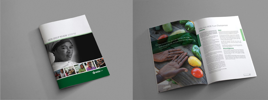 WDB Annual report design
