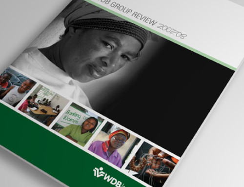 Annual Report Design: WDB