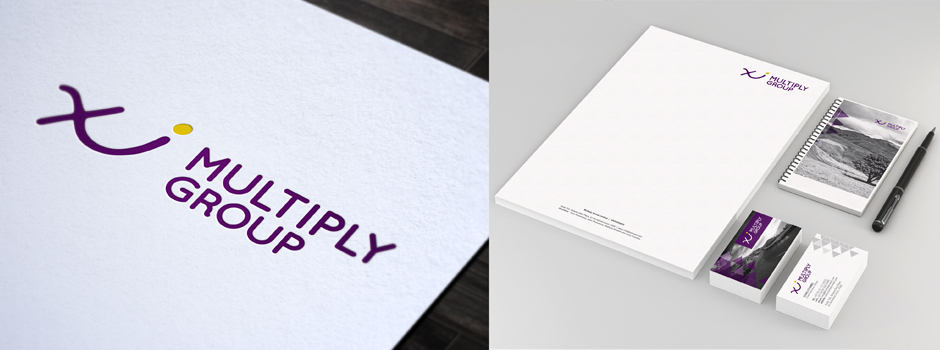 Multiply corporate identity design