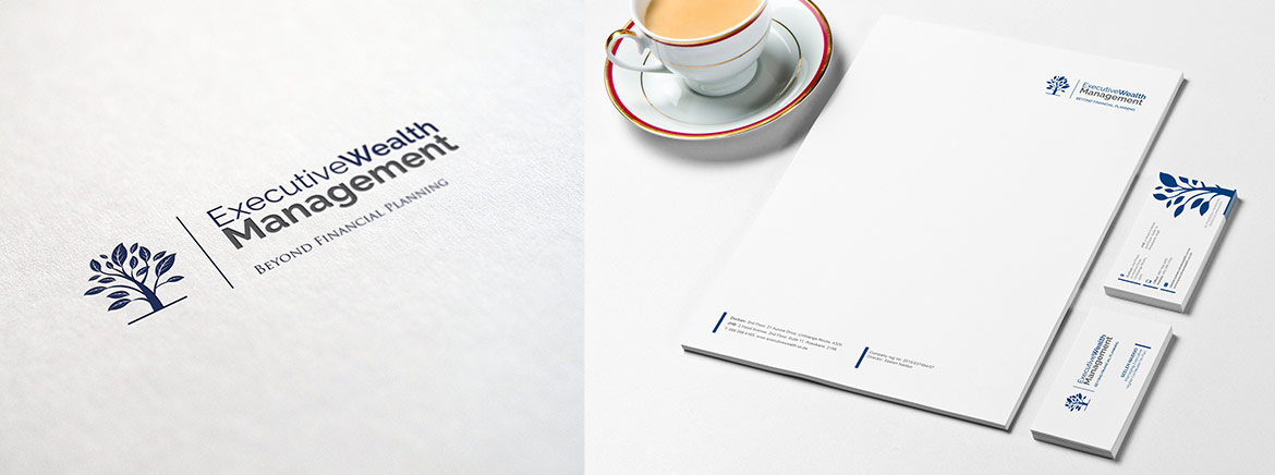 Corporate identity for Financial Services Management Provider logo