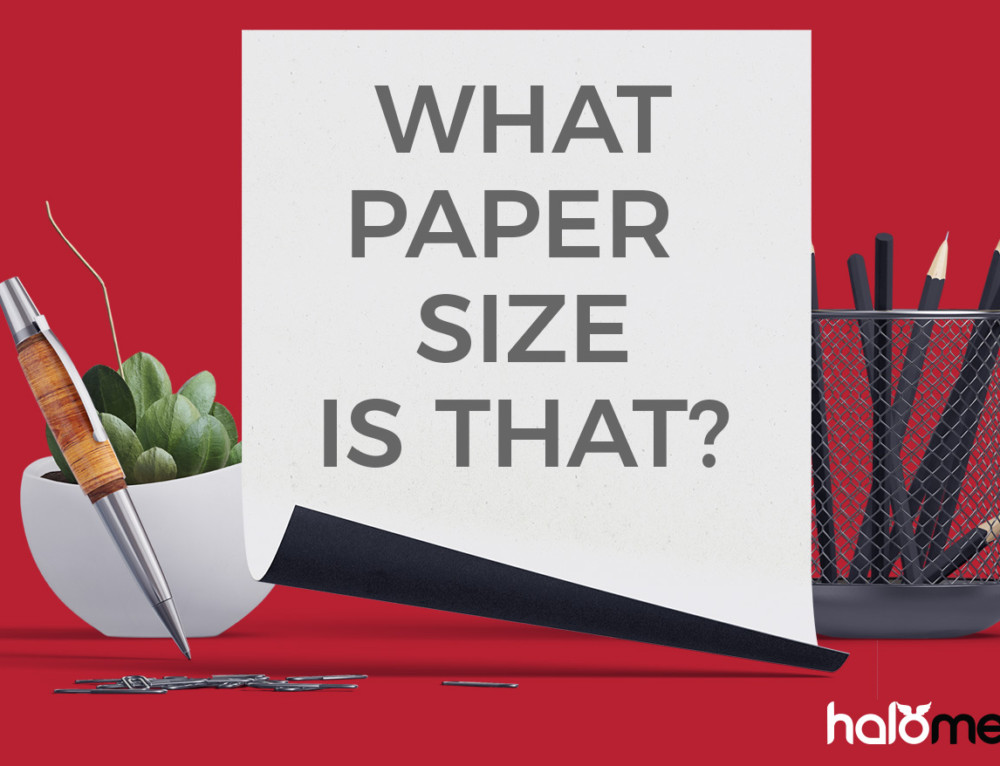 Paper size Guide for graphic designers and marketers