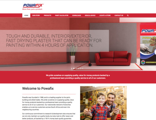 Website Design: Powafix