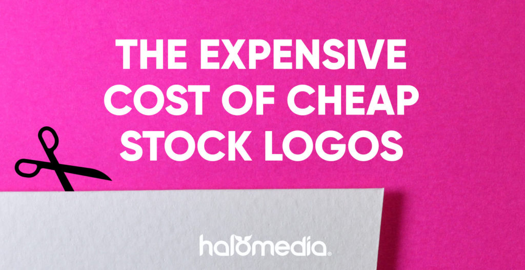 cheap stock logo