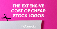 cheap stock logo