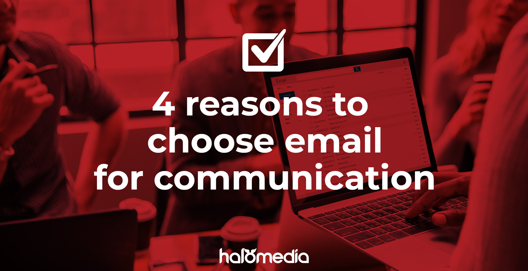 Communicating via email with Durban Marketing and Design Company Halo Media