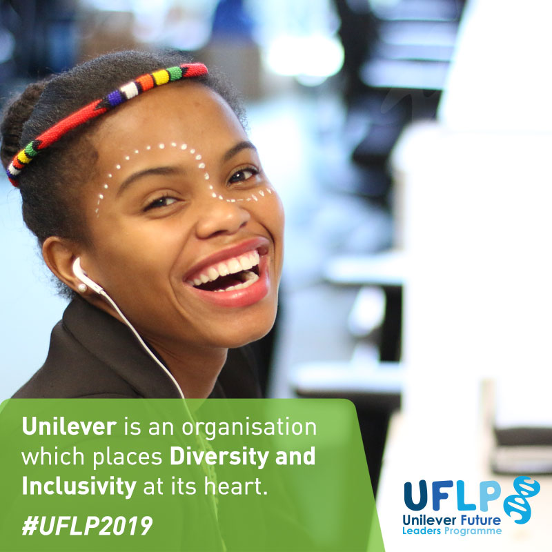 Employer Branding marketing example for Unilever in South Africa