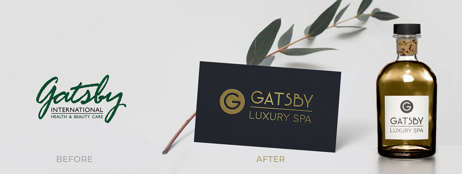 Luxury Spa Marketing and brand design
