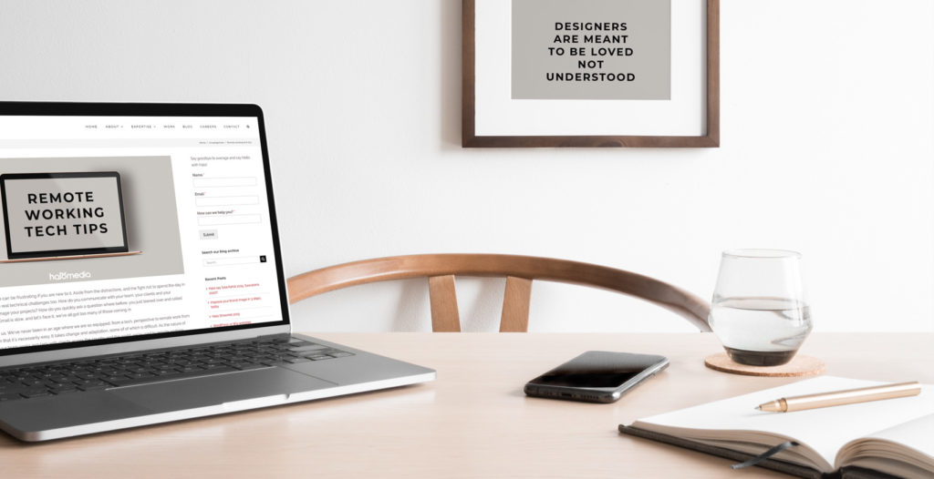 Remote working tech tips for marketers