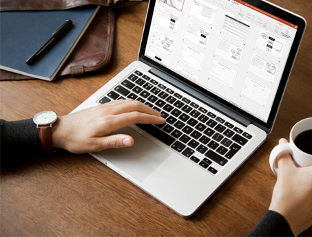 investment marketing pitch design design company