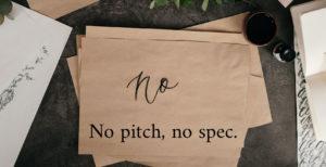 no pitch no spec policy